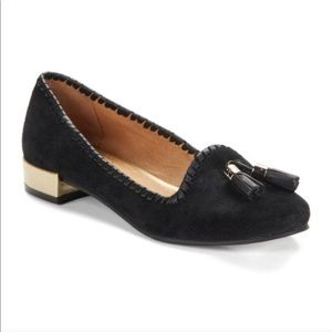 Jack Rogers Gabrielle Suede Loafers Flats Shoes